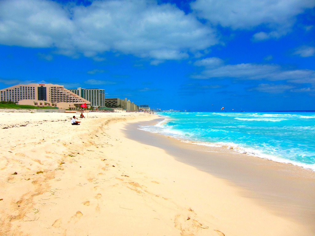 Playa Delfines Is One Of The Most Beautiful Beaches And Has Been Rewarded With A Blue Flag Which Means It Safe Environment